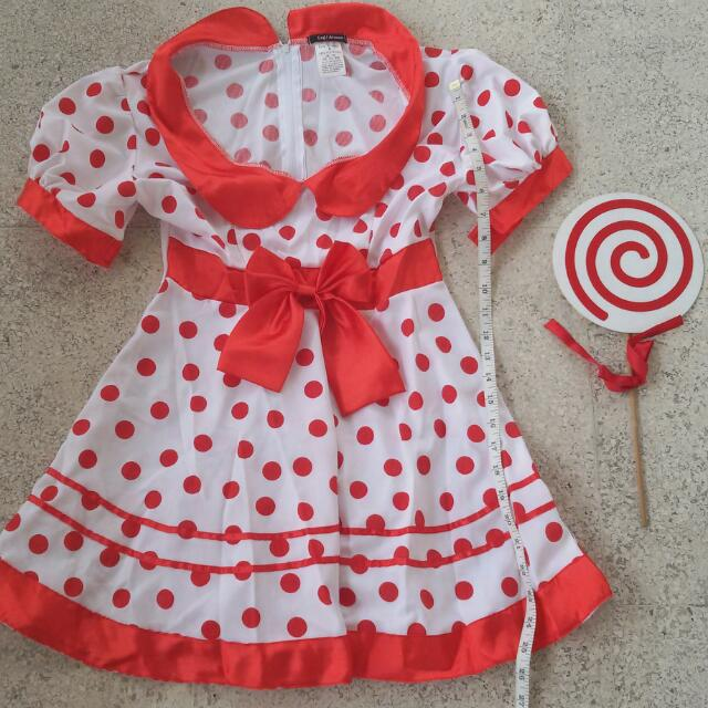 Candy Cane Girl Costume