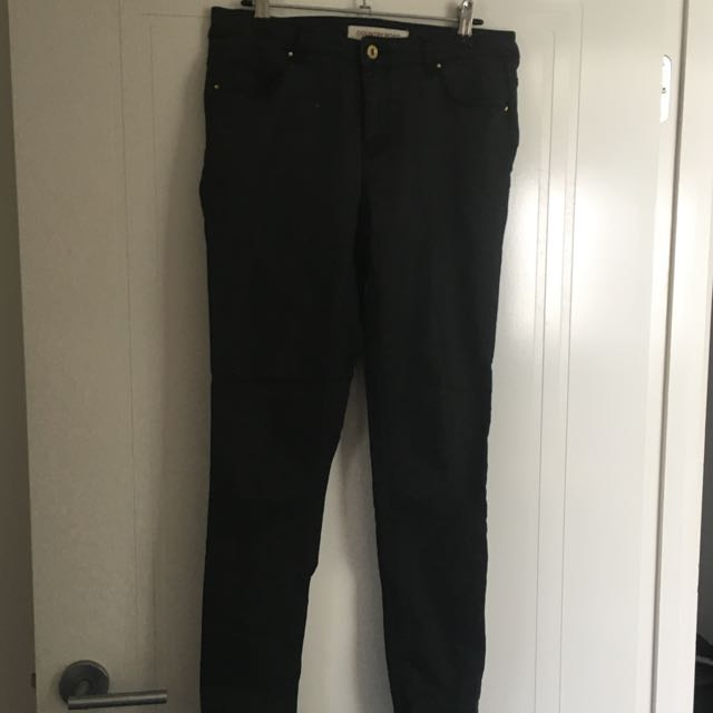 Country Road Faded Black Jeans Jeggings Size 8