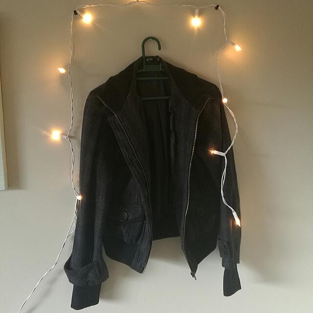 Cozy Black Jacket