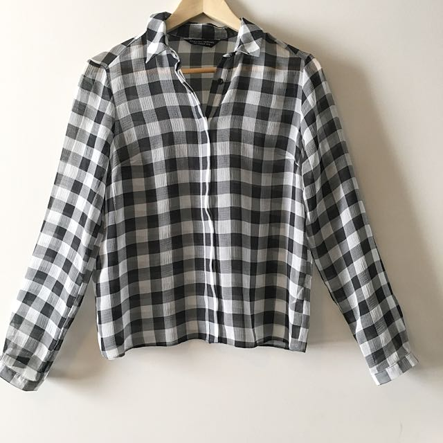 DOROTHY PERKINS Plaid Top