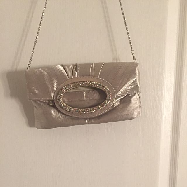 Elegant Coloured Crystal Bag