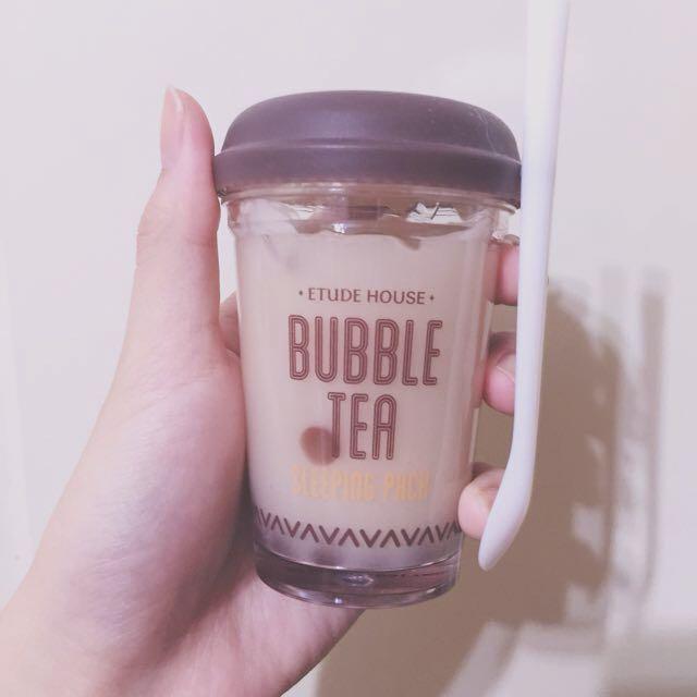 ETUDEHOUSE珍珠奶茶晚安凍膜