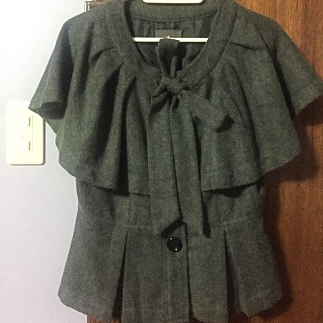 F21 Dark gray Coat