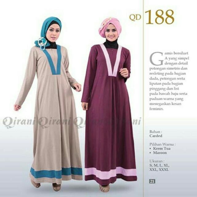 Gamis Qirani QD188