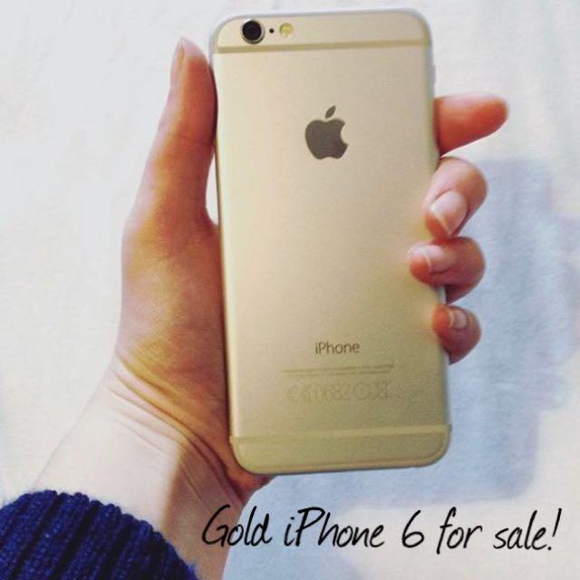 Gold iPhone 6 - Fido - $500!