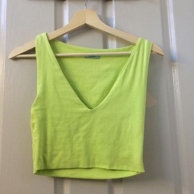 Green Kookai Top Size 1