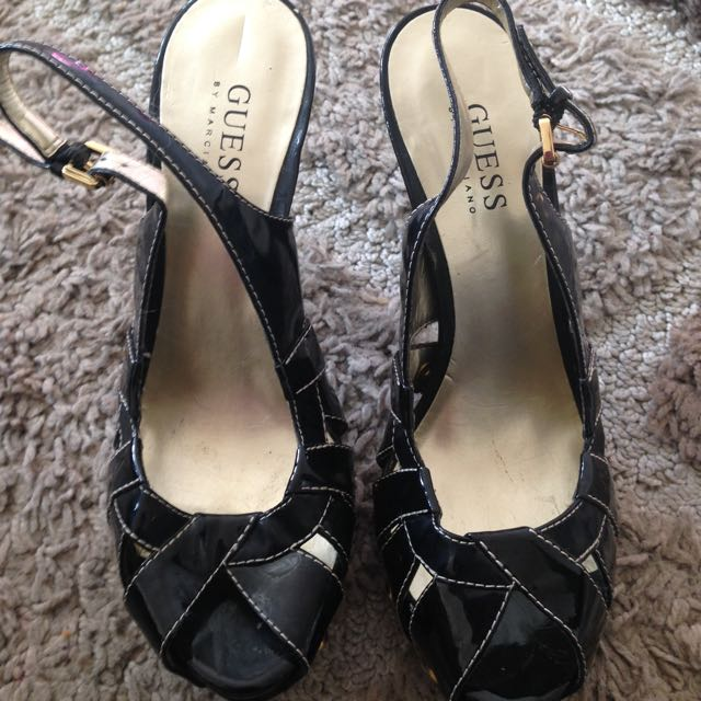 Guess High Heels In Black