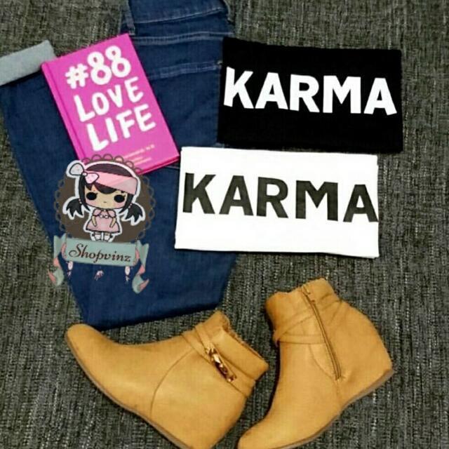 Kaos Tshirt Karma