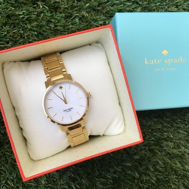 Kate Spade 金色手錶 最後一隻現貨