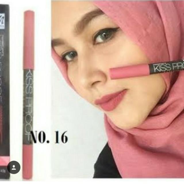 Kissproof Lipstik Soft Matte