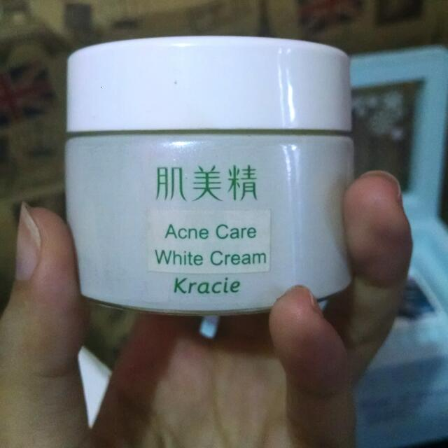 Kracie Hadabisei Acne Care White Cream