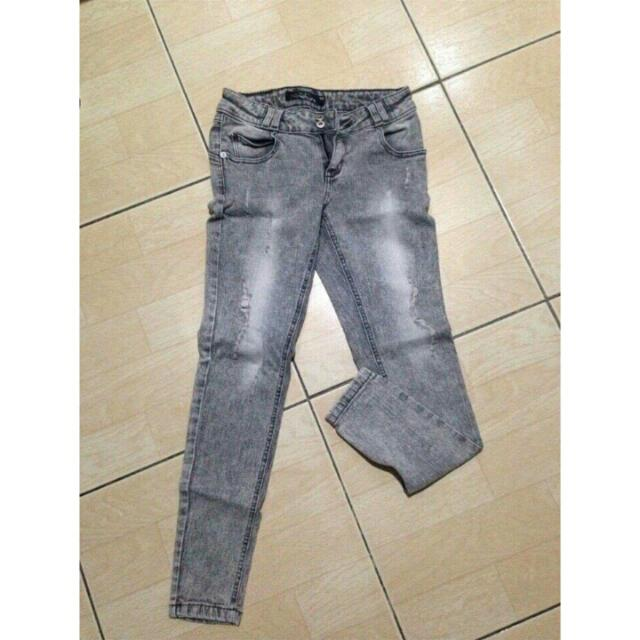 Lee Pipes Faded Pants