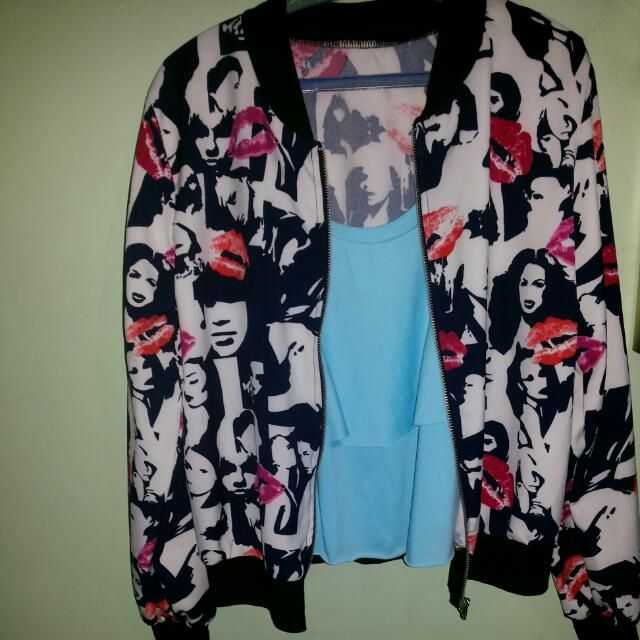 Lip Jacket & Sleeveless