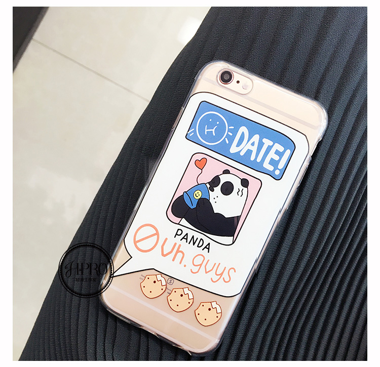 Lovely iPhone6/6s Phone Case (Panda)