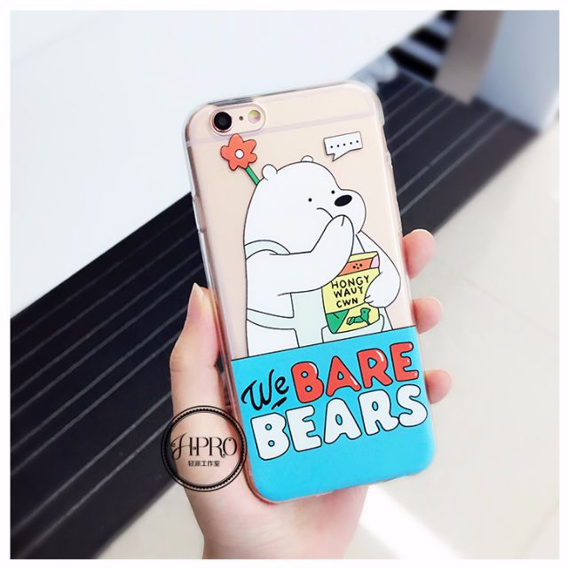 Lovely iPhone6/6s Phone Case (WhiteBear)
