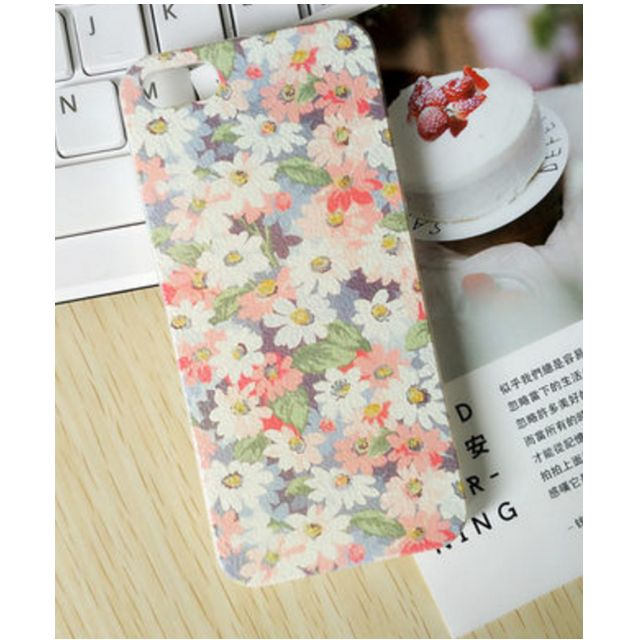 Lovely iPhone 5/5S Phone Case (Flowers)