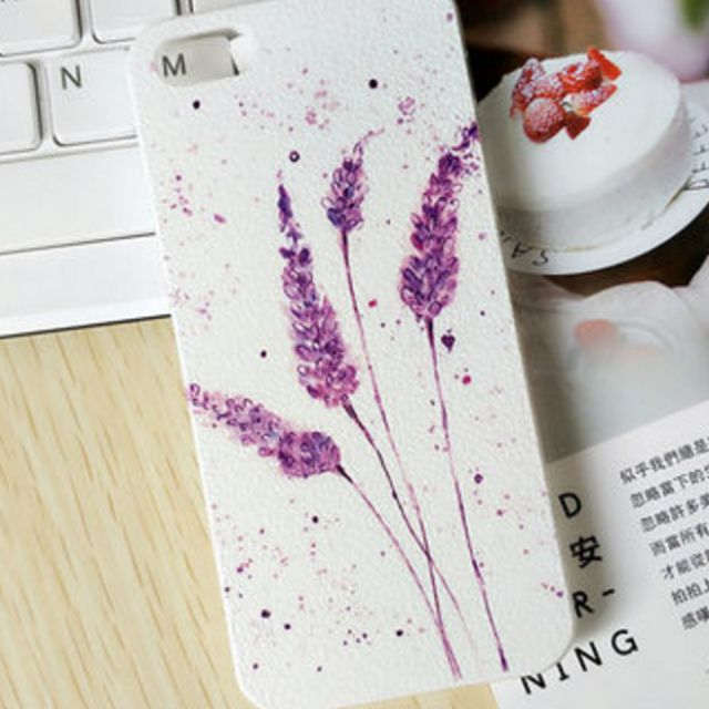 Lovely iPhone 5/5S Phone Case (Lavender)