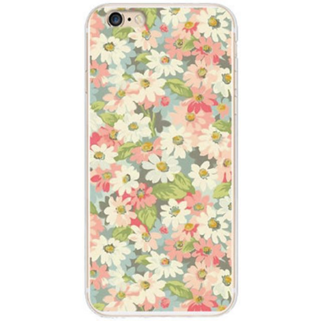 Lovely iPhone 6/6S Phone Case (Flowers)