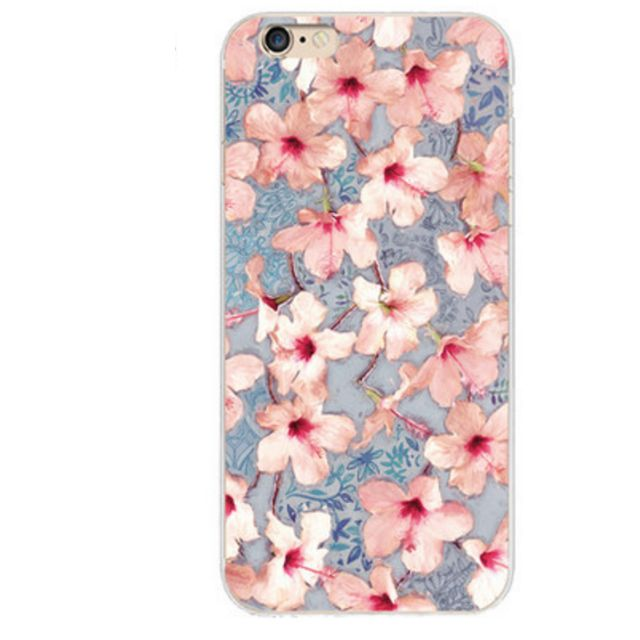Lovely iPhone 6/6s Phone Case (PinkFlower)