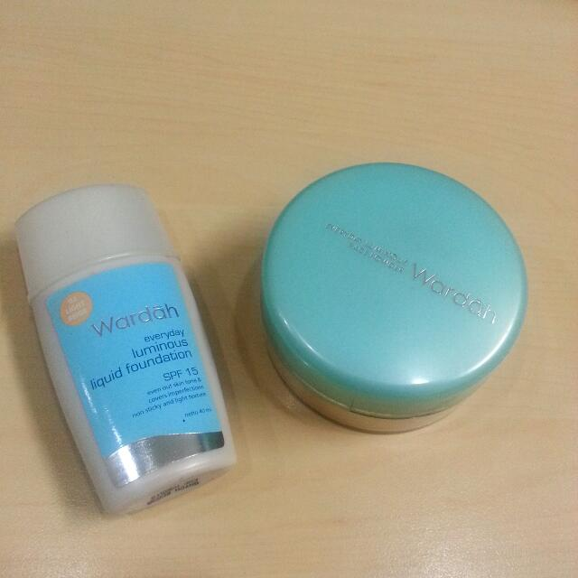 Luminous Foundation And Luminous Loose Powder wardah