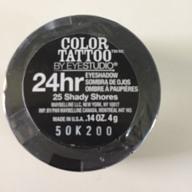 Maybelline Colour Tattoo