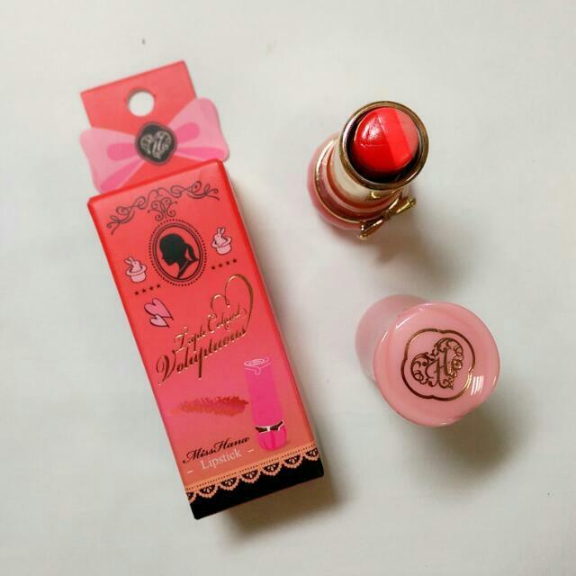misshana 三色唇膏(紅)
