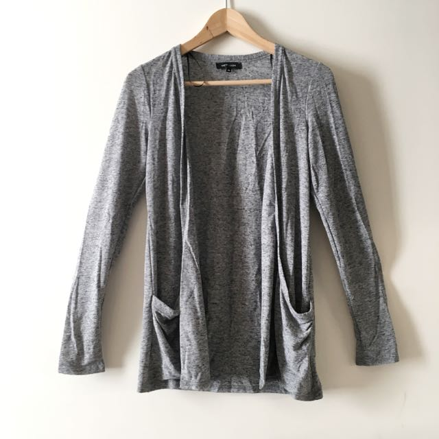 NEW LOOK Grey Lightweight Cardigan