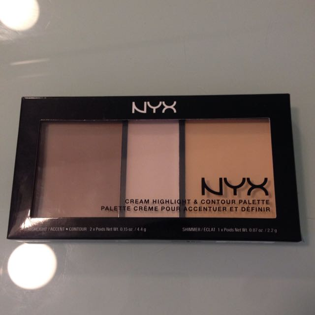 NYX Contour And Highlight pallete