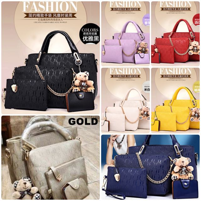 Paket Tas 4in1! Best Seller! VV6688