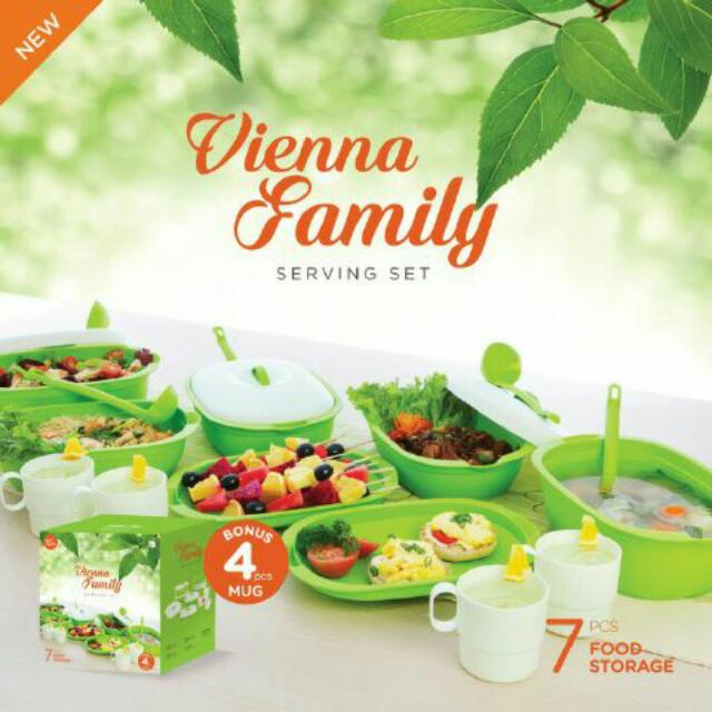 Piring Saji New Vienna Family Set
