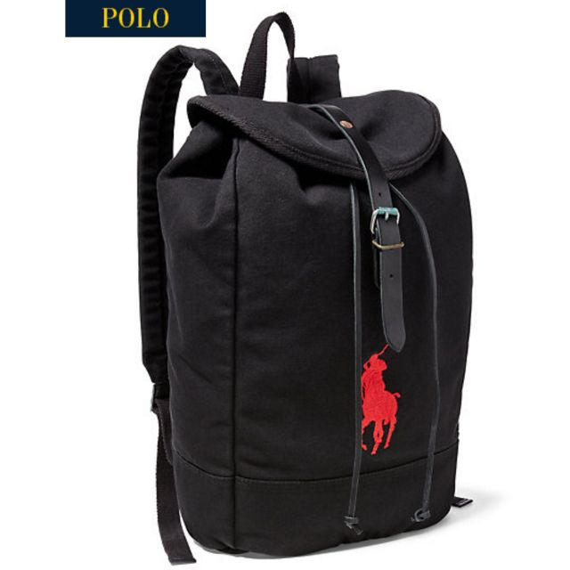 Polo Ralph Lauren Big Pony Canvas Backpack d61627efea776