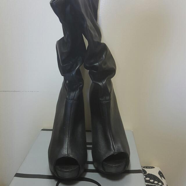 Pulp Black Boots