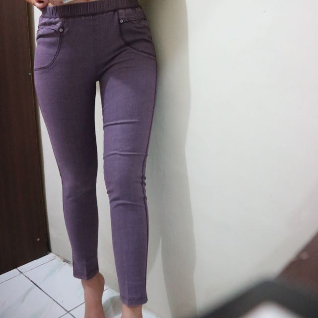 Purple Jegging