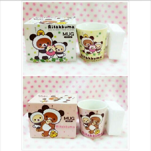 ★娃娃兵★日本Rilakkuma拉拉熊懶懶熊馬克杯杯子