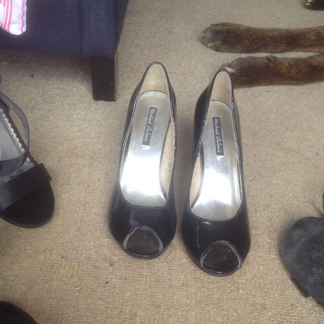 Size 9 Black Heels