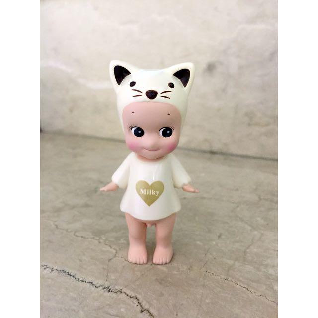 Sonny Angel 2009 情人節 牛奶貓