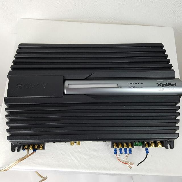 Sony Amplifier 1200w 4/3 Channel Xm-zr4a