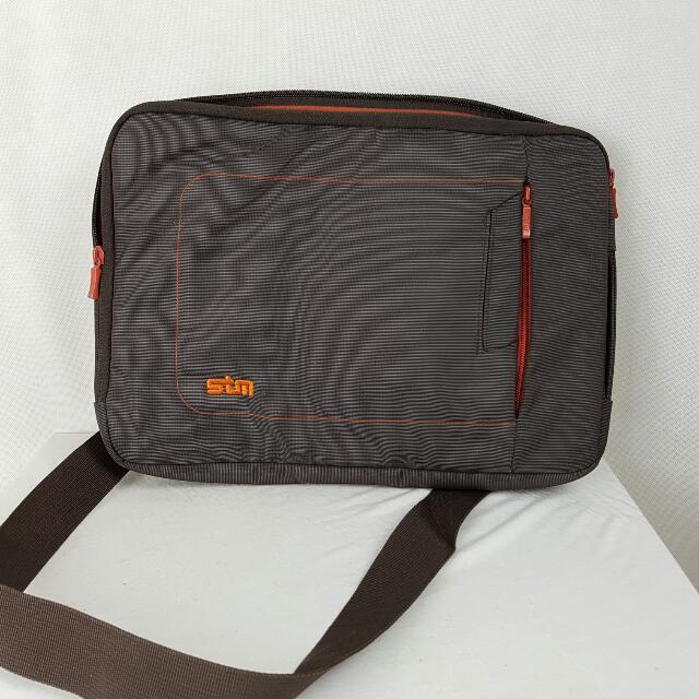 Stm 13 Inch Laptop Carry Bag Brown