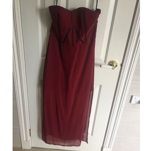 Strapless Pilgrim Dress