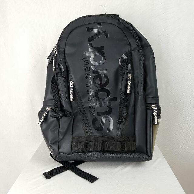Superdry Backpack Black