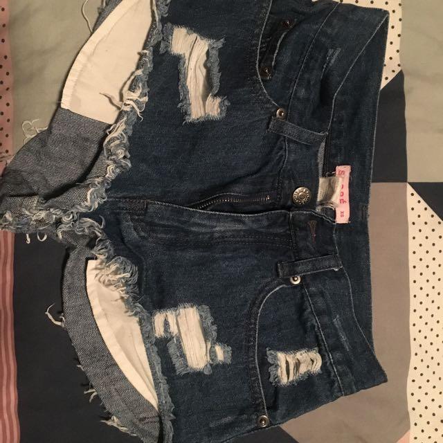 Supre Denim Short Shorts