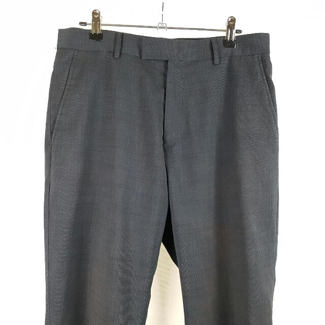 Tarocash Formal Suit Pants Dark Grey Size 30