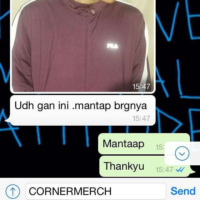 Testimonial Cornermerch! We Are Trusted Online Shop👍🏻