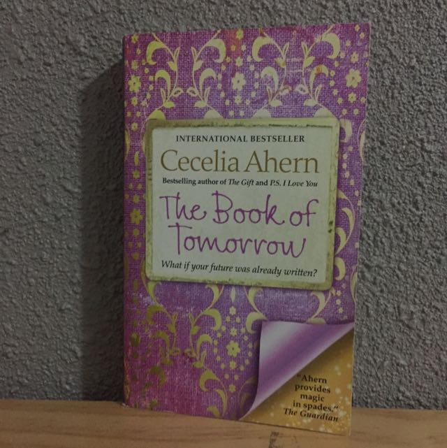 The Book Of Tomorrow By Cecelia Ahern