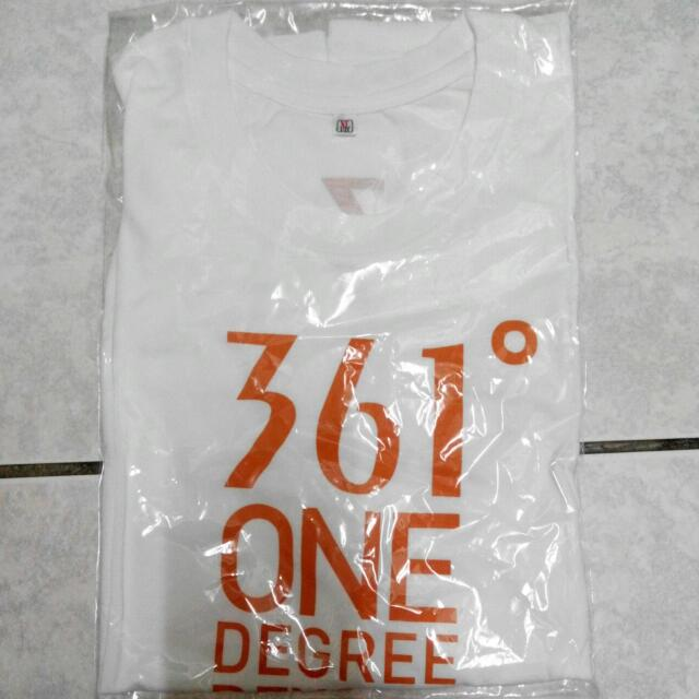 圓領短袖白T恤XL