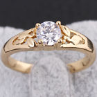 UN3F Zircon Pendant Ring Wedding Engagement Ring Bridal Band Size