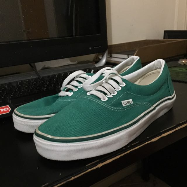 **SHIPPING INC** Vans Emerald Green SIZE US9