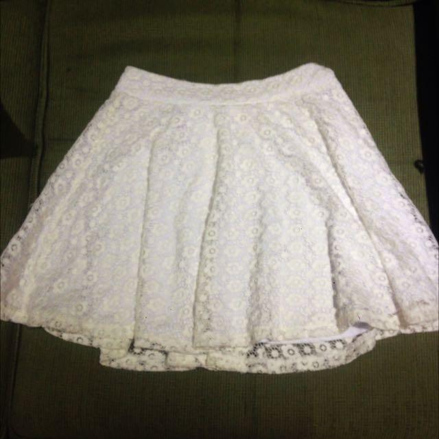White Summer Skirt