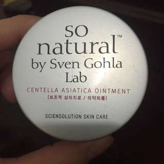 So Natural痘痘藥膏