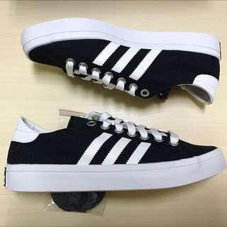 Adidas Court Vantage 黑 帆布鞋 女鞋 休閒